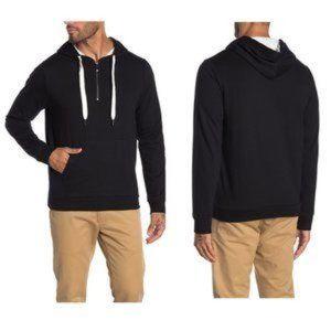 Robert Barakett 1/4 Zip Hoodie Pullover Sweatshirt